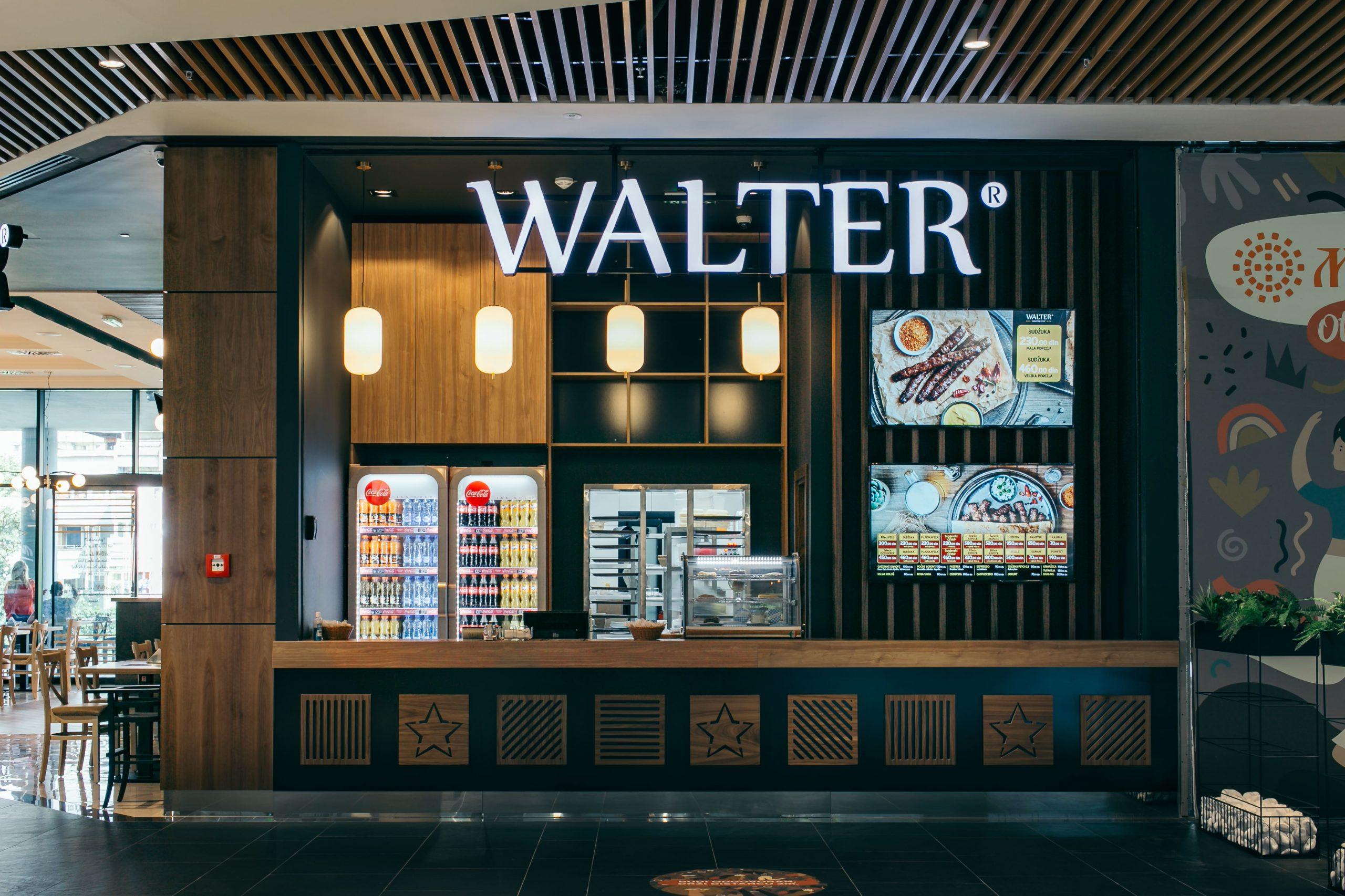 Walter restoran u BEO Shopping Centru