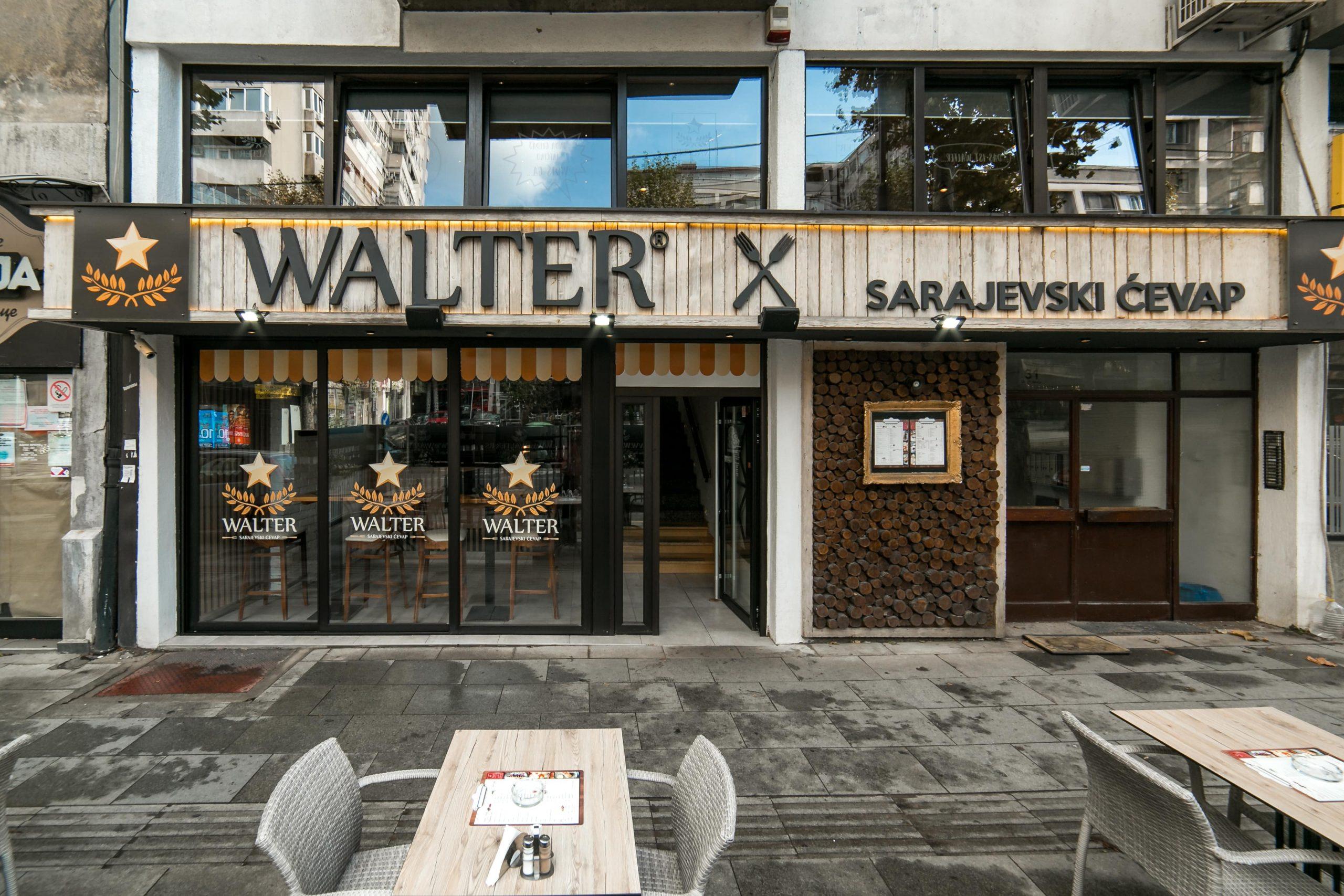 Walter restoran na Paliluli