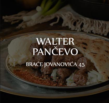 Walter restoran u Pančevu